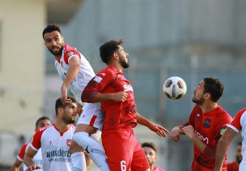 لیگ برتر فوتبال، پیروزی نساجی مازندران برابر سپیدرود رشت در نیمه اول