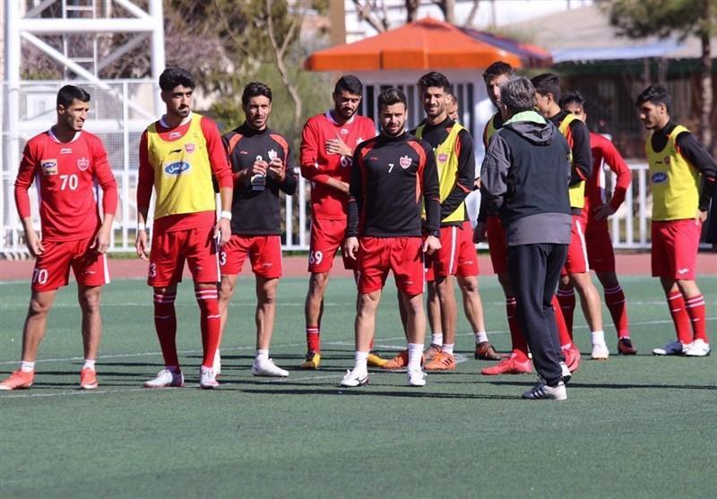 گزارش تمرین پرسپولیس، تذکر باقری به بازیکنان و اولین حضور بازیکن ملی پوش
