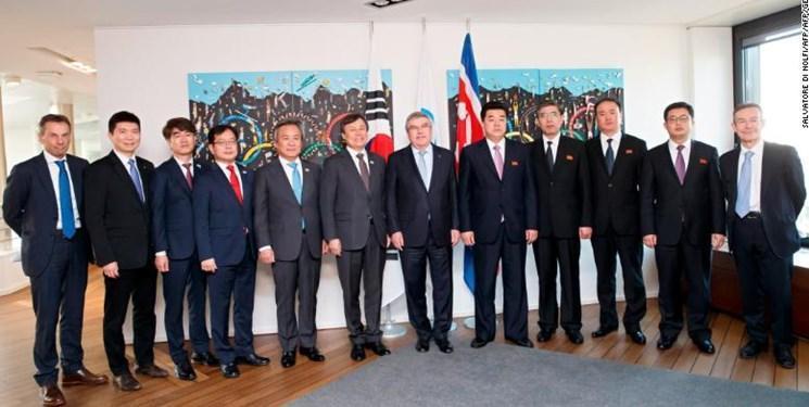 کره شمالی و جنوبی در المپیک 2020 تیم های مشترک می فرستند