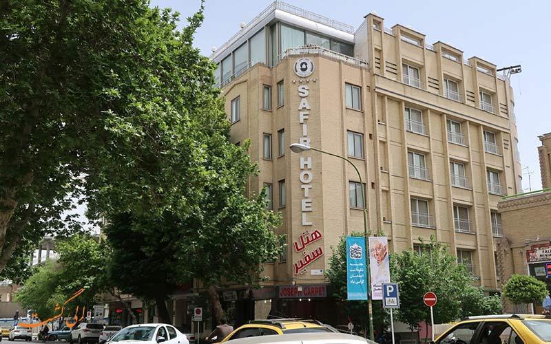 هتل سفیر اصفهان، هتلی نزدیک میدان نقش دنیا