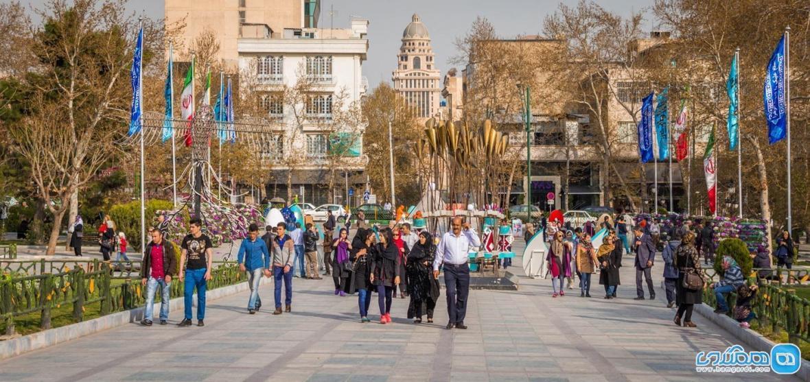 بهترین پیاده راه های تهران از نگاه مخاطبان خبرنگاران