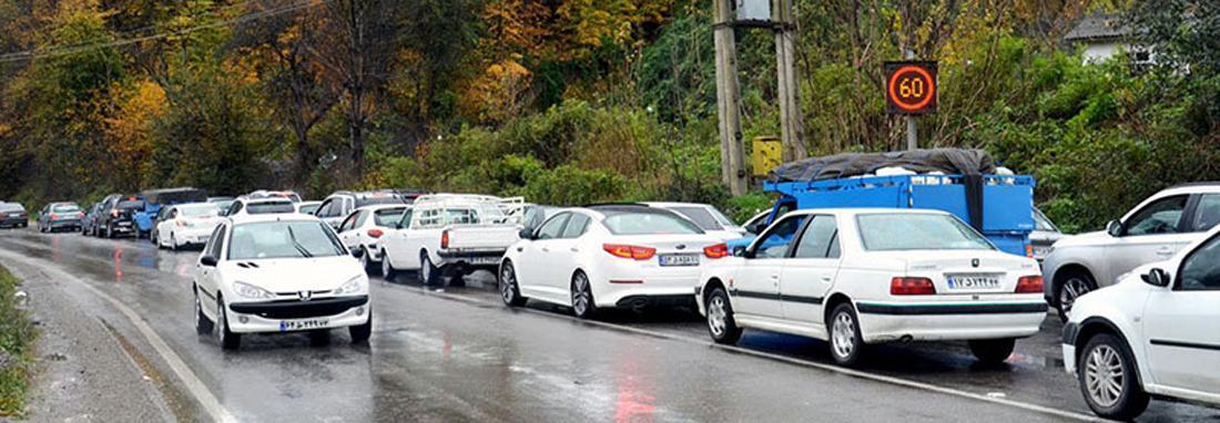 محدودیت های ترافیکی مسیرهای شمالی در سه روز پایانی تعطیلات تابستانی ، جاده ها یک طرفه می شوند