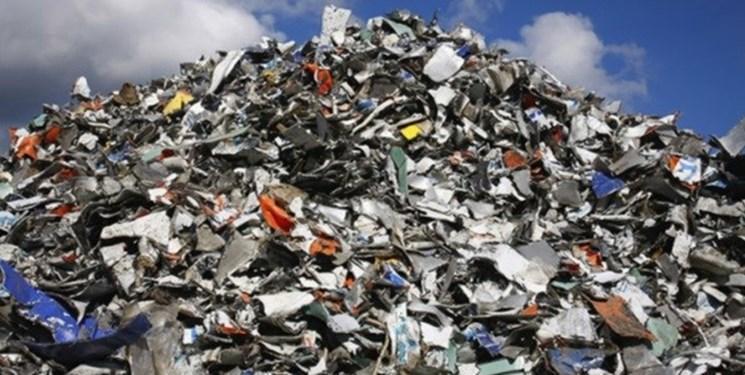 پاکسازی 127 هکتار از اراضی پایانه مرزی مهران از زباله
