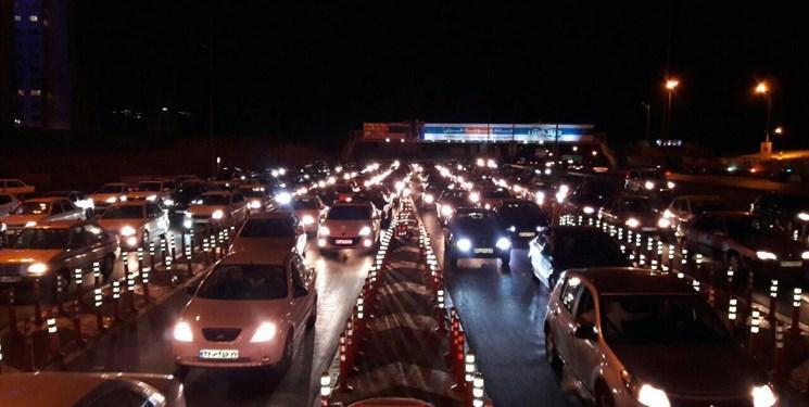 آخرین وضعیت محور های منتهی به پایتخت، ترافیک سنگین در ورودی های شرقی و جنوبی تهران