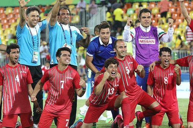 فوتبال هفت نفره موقتا از بازیهای پاراآسیایی حذف شد