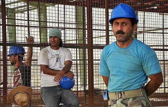 اکثر کارگران ساختمانی یاری معیشتی نگرفته اند
