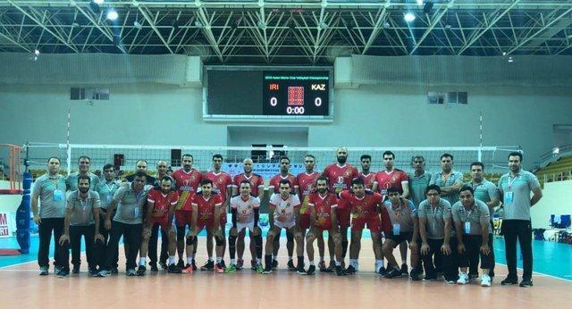 صعود خاتم اردکان به فینال والیبال باشگاه های آسیا