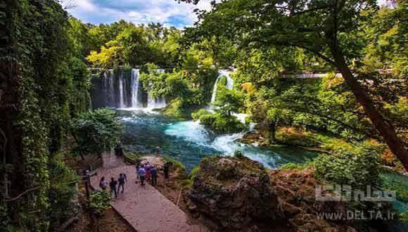 آنتالیا ، آبشارهای دودن
