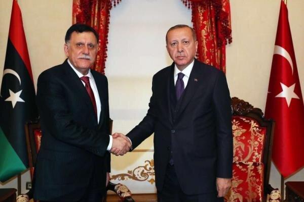 ترکیه تدوین لایحه ای جدید برای اعزام نیرو به لیبی را آنالیز می نماید