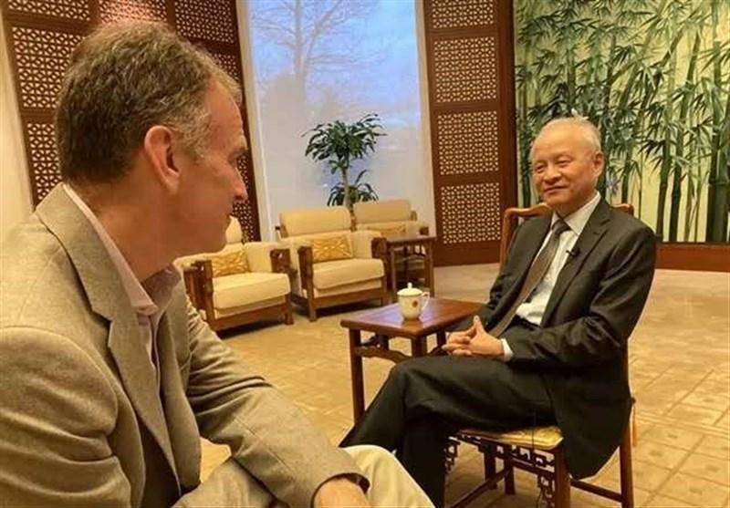 پاسخ سفیر چین در آمریکا به سوال رسانه های آمریکا درباره استان هوبی