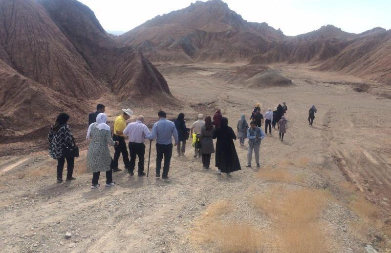 خبرنگاران معرفی خانه های تاریخی ابرکوه سوژه این هفته ایران