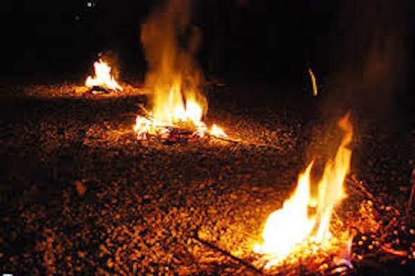 چهارشنبه سوری در خانه بمانید ، با هرگونه آتش سوزی برخورد می گردد