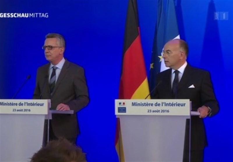 وزرای کشور آلمان و فرانسه تشدید اقدامات امنیتی در اروپا را خواهان شدند