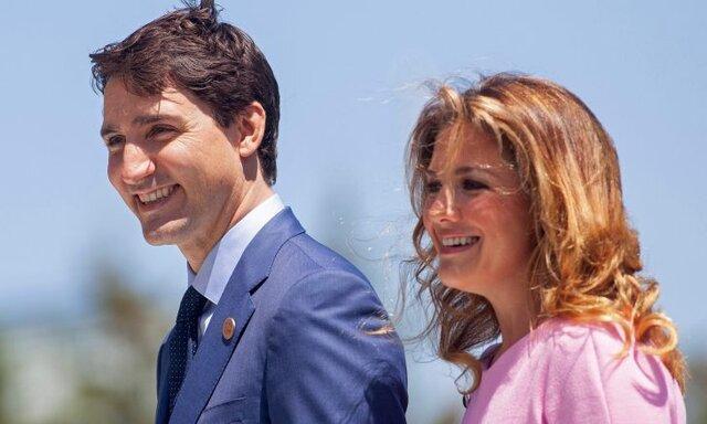 کُرونا نخست وزیر کانادا و همسرش را به قرنطینه فرستاد
