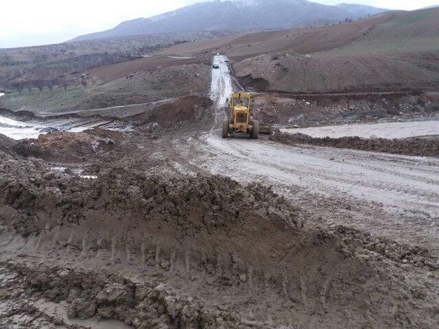 راه ارتباطی 307 روستای لرستان باز شد