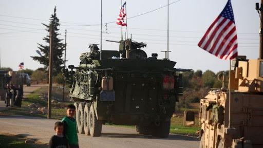 روستاییان سوریه از عبور کاروان نظامی آمریکا جلوگیری کردند