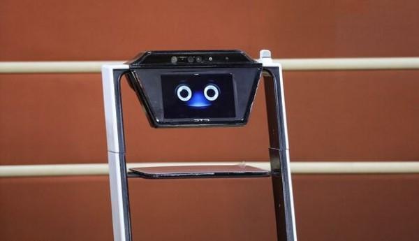 ربات خدمت رسان پزشکی رونمایی شد
