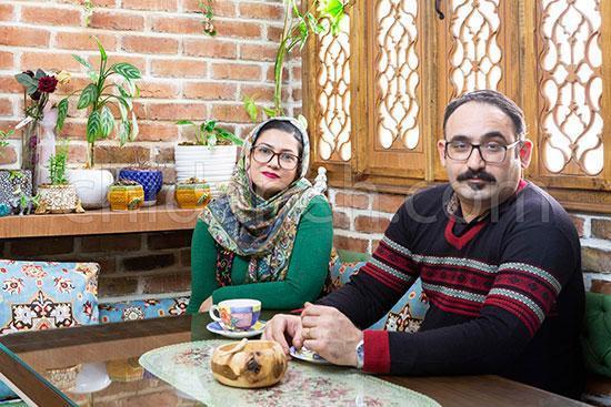 دکوراسیون چوبی خانه 60متری زوج جوان تهرانی