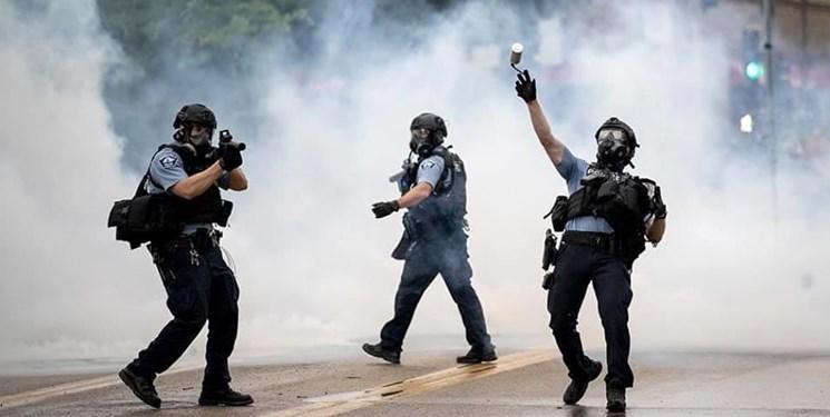 فیلم ، تداوم اعتراضات در آمریکا؛ پورتلند، جورجیا و اوکلند در آتش