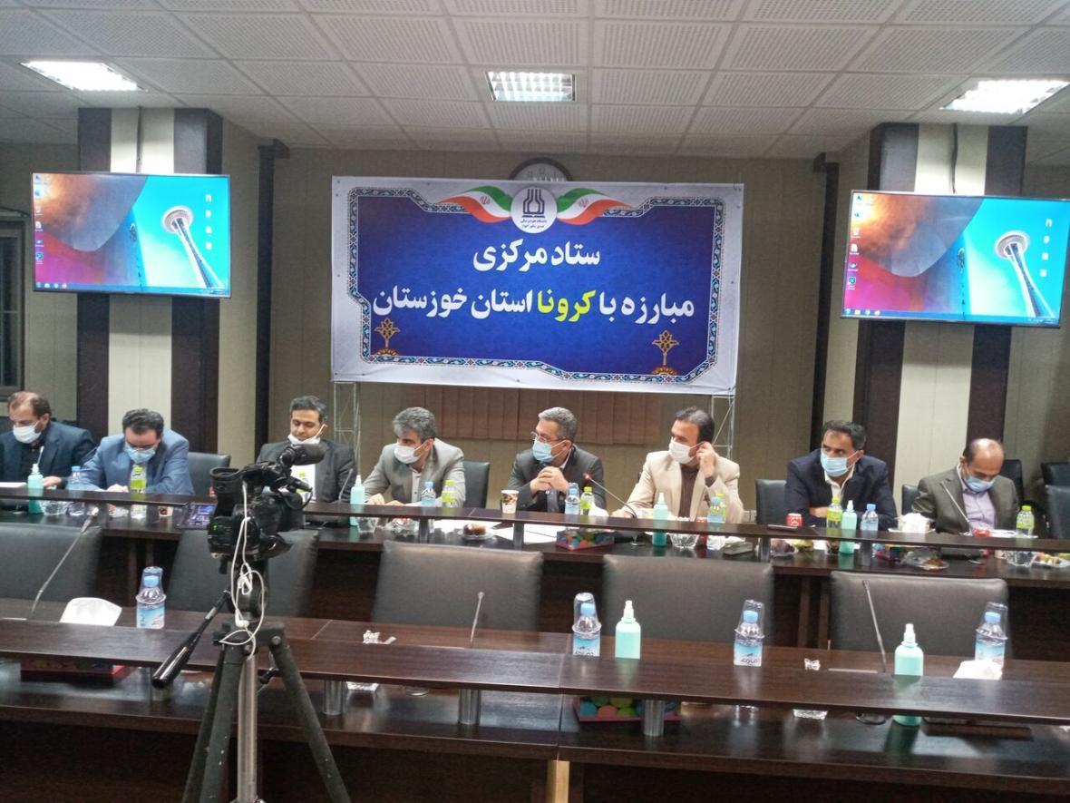خبرنگاران معاون درمان وزارت بهداشت: تجهیزات درمانی خوزستان را تامین می کنیم