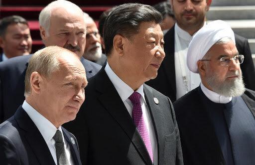 دوستان چین و شرکای راهبردی