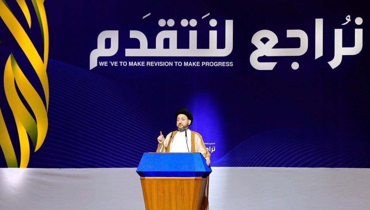 خبرنگاران سید عمارحکیم رئیس ائتلاف عراقیون شد