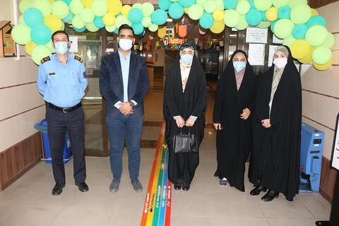 اهدای کمک های نقدی جامعه اسلامی علوم پزشکی شیراز به بچه ها سرطانی