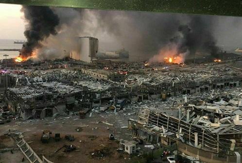 هویت بسیاری از اجساد بر جا مانده از انفجار مجهول است