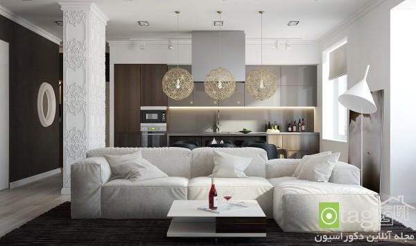 بهترین چینش مبلمان راحتی در اتاق نشیمن خانه بهمراه عکس