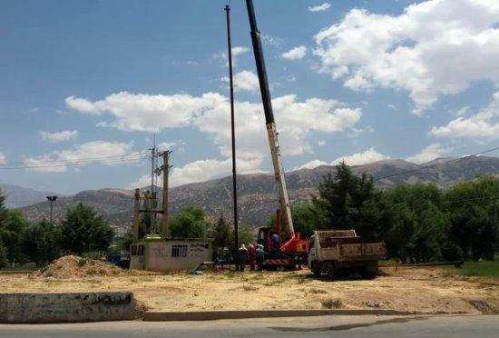 پایداری شبکه آبرسانی روستاهای پکاچیک و وار با تعویض 2 الکتروپمپ تاسیسات آبرسانی
