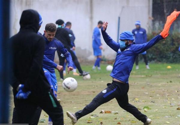 گزارش تمرین استقلال، غیبت شجاعیان و ادامه تمرینات اختصاصی دو بازیکن