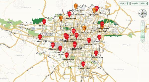 شرایط قرمز در تهران، از تردد غیرضروری بپرهیزید