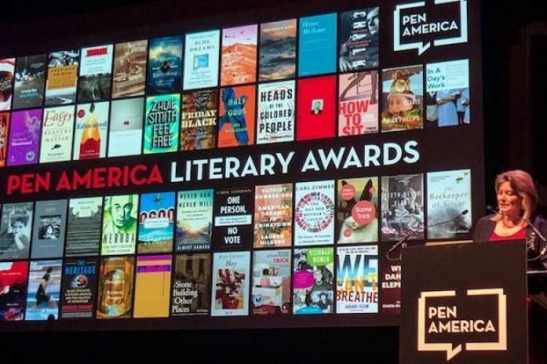 نامزدهای جایزه قلم آمریکا در تمام رشته ها اعلام شد، گروس عبدالملکیان شاعر ایرانی در فهرست نهایی