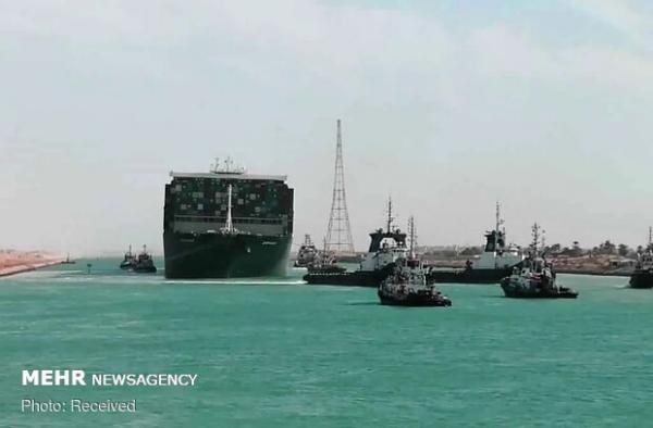 بروز اختلال مجدد در عبور کشتی ها از کانال سوئز