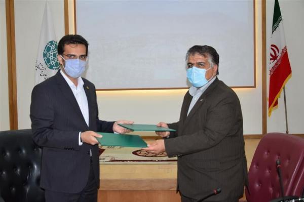 خبرنگاران شهرک علمی تحقیقاتی و نظام مهندسی کشاورزی اصفهان تفاهمنامه امضا کردند