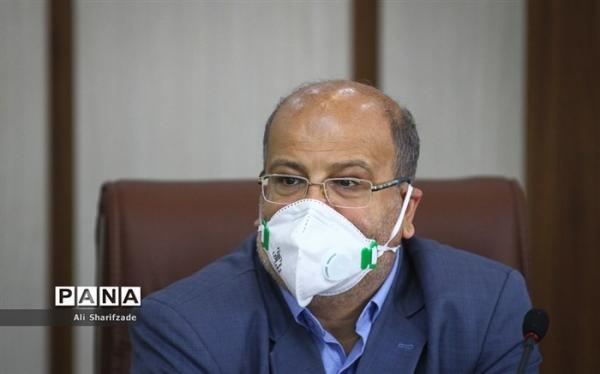 زالی: آلودگی کرونایی تهران فراتر از قرمز است