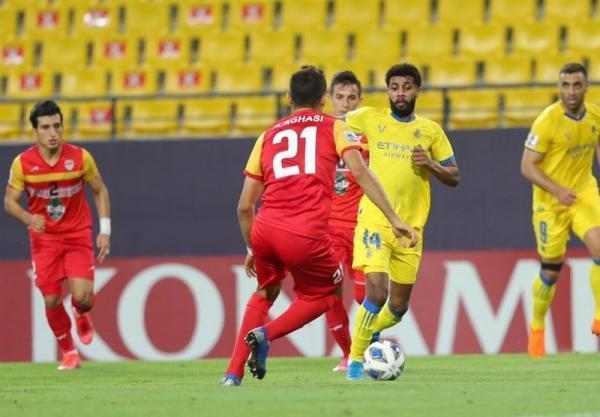 لیگ قهرمانان آسیا، زور فولاد و النصر به هم نرسید، شاگردان نکونام باز هم بازی برده را با تساوی عوض کردند