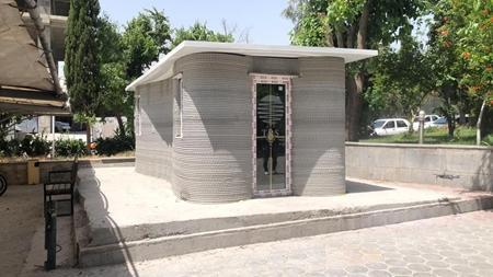 دانش بنیان ها نخستین ساختمان را با فناوری چاپ سه بُعدی ساختند