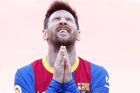 فصل برای مسی در بارسلونا تمام شد