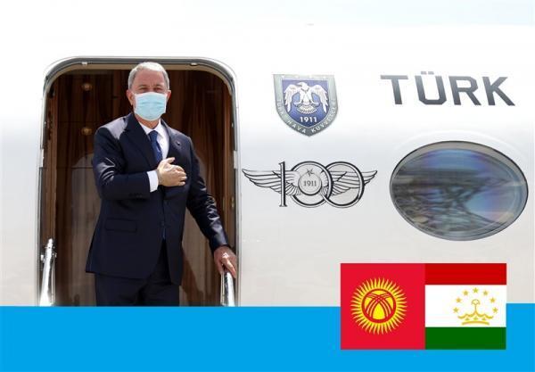 نگاهی به سفر وزیر دفاع ترکیه به تاجیکستان و قرقیزستان؛ رایزنی برای شورای ترک و افغانستان