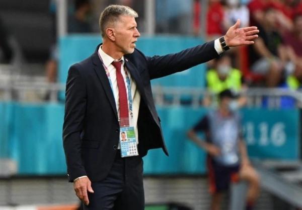 یورو 2020، سرمربی چک: تیمی عظیم را حذف کردیم، نتیجه بازی خود گویای همه چیز است