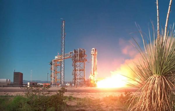فضاپیمای بلو اوریجین با محموله علمی ناسا پرتاب شد