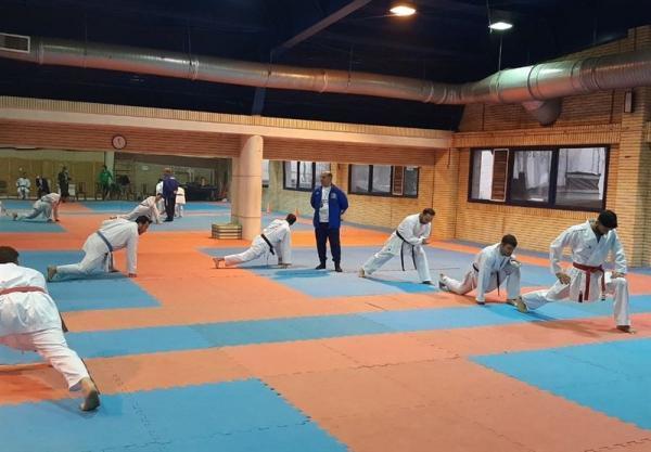 شروع مرحله چهارم اردوی تیم ملی کاراته