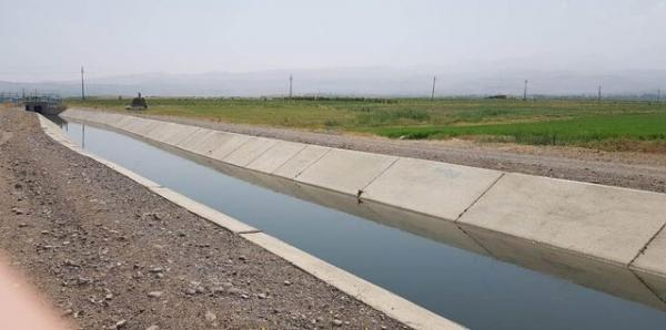 5000 هکتار از شبکه آبیاری در اراضی کشاورزی شبکه خداآفرین در امسال زیر کشت رفته است